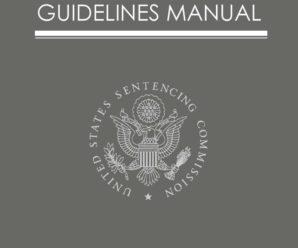 sentencing guidelines manual