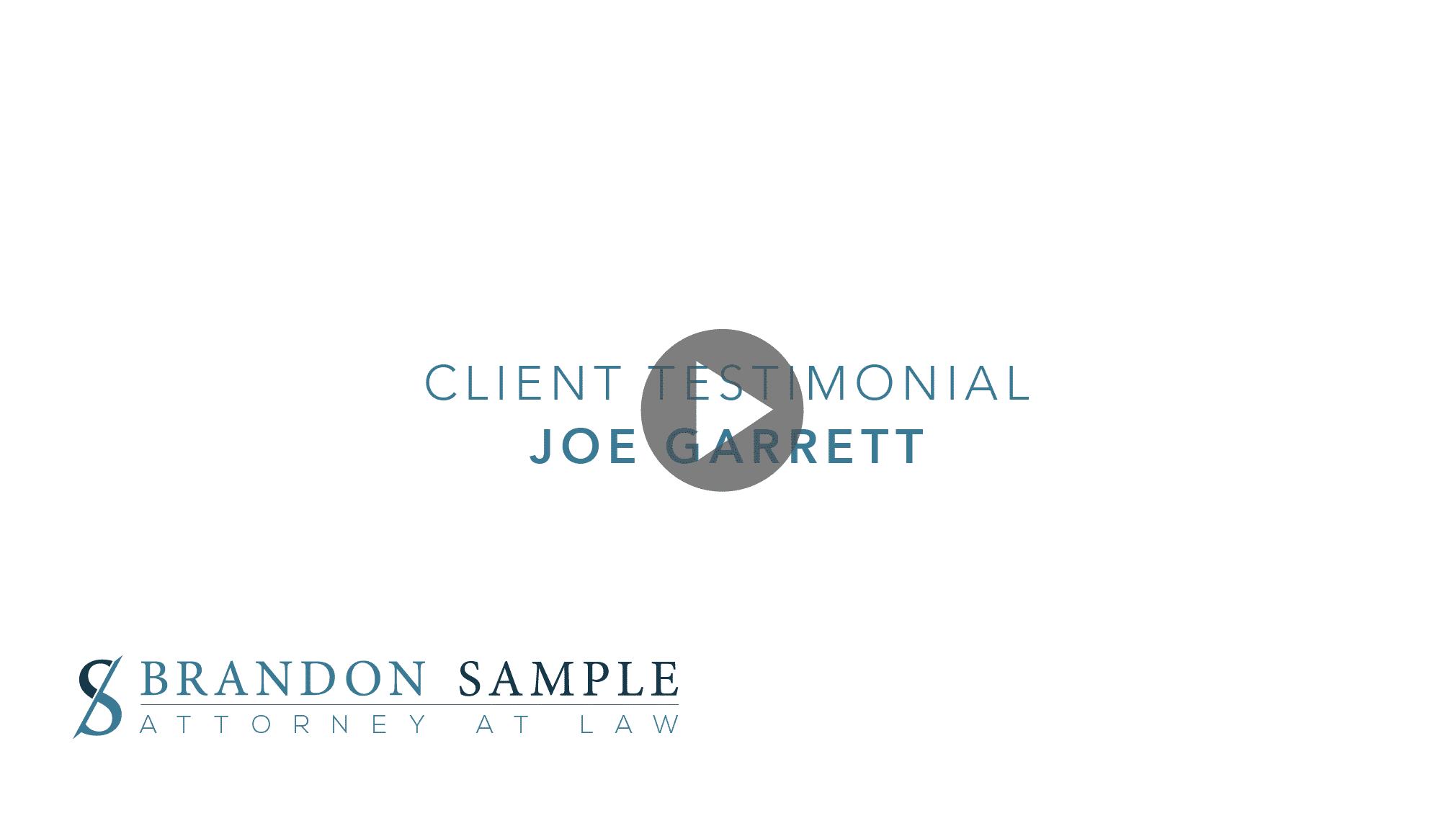 Client Review - Joe Garrett
